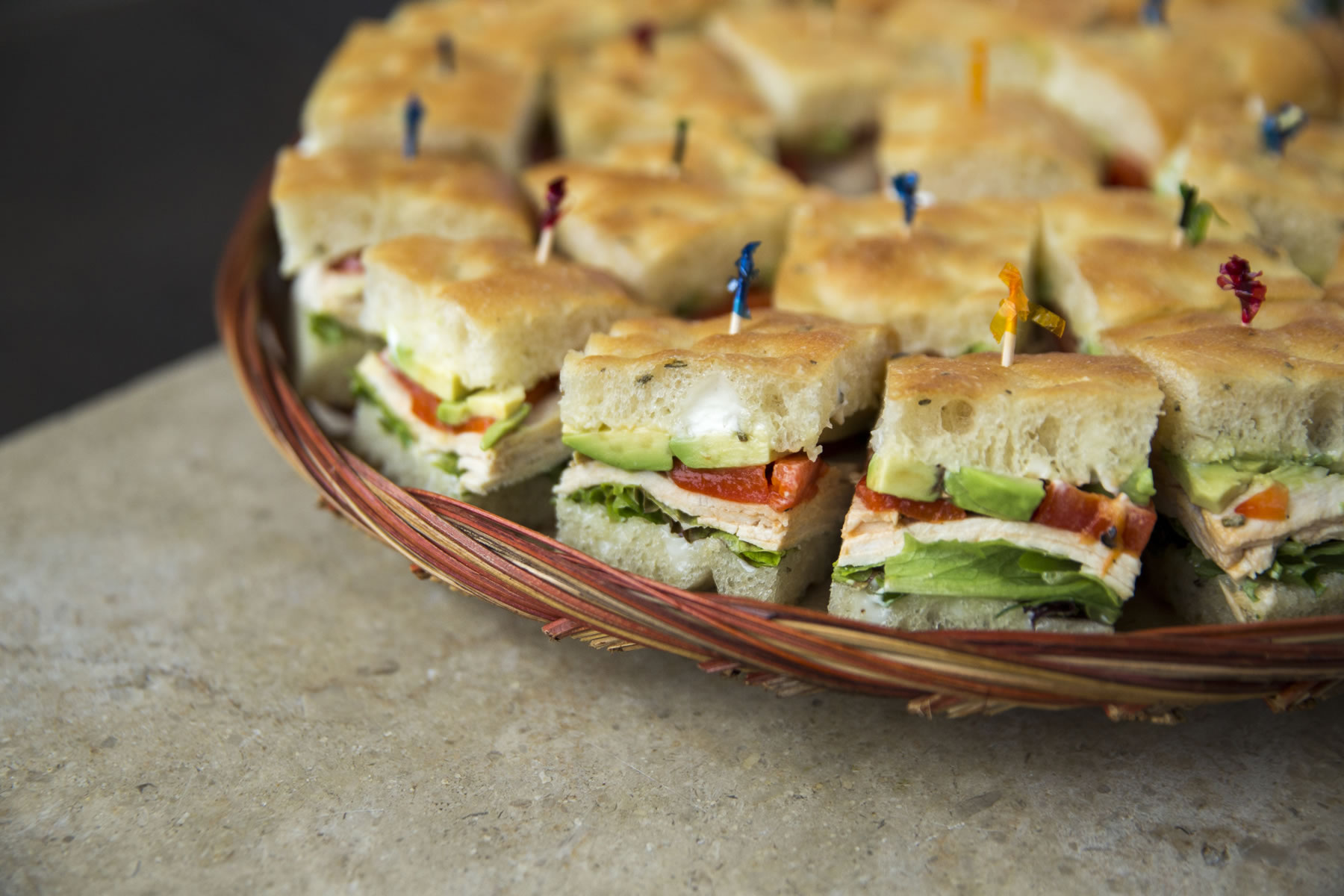 Sandwich Platters Market Hall Caterers