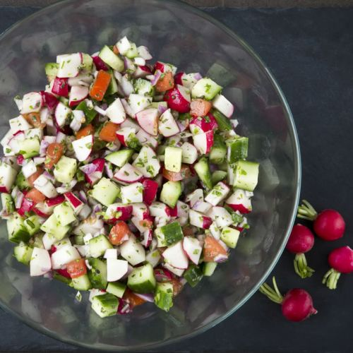 Vegetable & Fruit Salads Priced per platter (serves 10)