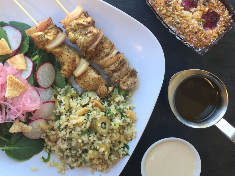 Ottolenghi-Inspired Chicken Shawarma Skewers